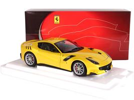 Ferrari F12 TDF Giallo Tristrato Yellow 1/18 Diecast Model Car BBR 182100DIE