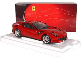 Ferrari F12 TDF Rosso Corsa 322 Red 1/18 Diecast Model Car BBR 182101DIE