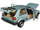 1987 Volkswagen Golf CL Light Green Metallic 1/18 Diecast Model Car Norev 188553