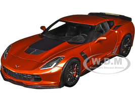 Chevrolet Corvette C7 Z06 Daytona Sunrise Orange Metallic 1/18 Model Car Autoart 71259