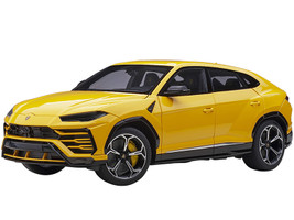 Lamborghini Urus Giallo Auge Yellow 1/18 Model Car Autoart 79163