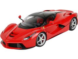 Ferrari LaFerrari Corsa Red Gloss Black Top 1/18 Diecast Model Car BBR 182221