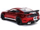 2020 Ford Mustang Shelby GT500 Candy Red White Stripes Bigtime Muscle 1/24 Diecast Model Car Jada 32662