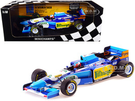 Benetton Renault B195 #1 Michael Schumacher Winner Monaco GP Formula One F1 1995 Limited Edition 450 pieces Worldwide 1/18 Diecast Model Car Minichamps 510952301