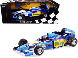 Benetton Renault B195 #1 Michael Schumacher Winner German GP Formula One F1 1995 Limited Edition 480 pieces Worldwide 1/18 Diecast Model Car Minichamps 510952701