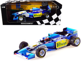 Benetton Renault B195 #1 Michael Schumacher Winner Pacific GP Formula One F1 World Champion 1995 Limited Edition 600 pieces Worldwide 1/18 Diecast Model Car Minichamps 510953301