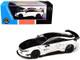 BMW i8 Liberty Walk White Black 1/64 Diecast Model Car Paragon PA-55151