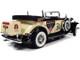 1932 Cadillac V16 Sport Phaeton Convertible Mr. Monopoly Resin Figurine 1/18 Diecast Model Car Autoworld AWSS127