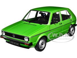 Volkswagen Golf L Viper Green Metallic 1/18 Diecast Model Car Solido S1800203