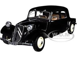 Citroen Traction 11CV Black 1/18 Diecast Model Car Solido S1800903