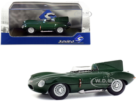 1952 Jaguar D-Type Green Metallic 1/43 Diecast Model Car Solido S4303000