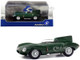 1952 Jaguar D-Type Green Metallic 1/43 Diecast Model Car Solido S4303000