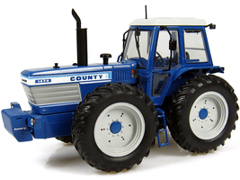 Ford County 1474 Tractor Blue 1/32 Diecast Model Universal Hobbies UH4032
