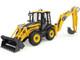 Komatsu WB97S-8 Backhoe Loader Yellow 1/50 Diecast Model Universal Hobbies UH8139