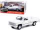 1982 GMC K-2500 Sierra Grande Wideside Pickup Truck White 1/18 Diecast Model Car Greenlight 13562