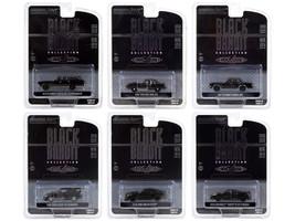 Black Bandit 6 piece Set Series 24 1/64 Diecast Model Cars Greenlight 28050