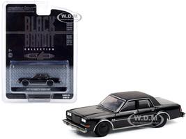 1987 Plymouth Gran Fury Black Bandit Series 24 1/64 Diecast Model Car Greenlight 28050 C