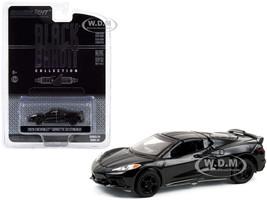 2020 Chevrolet Corvette C8 Stingray Black Bandit Series 24 1/64 Diecast Model Car Greenlight 28050 F