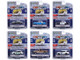 Hot Pursuit Set of 6 Police Cars Series 37 1/64 Diecast Model Cars Greenlight 42950
