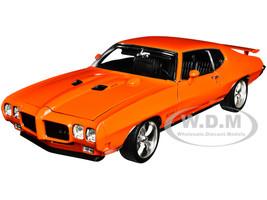 1970 Pontiac GTO Street Fighter Carousel Red The Prosecutor 1/18 Diecast Model Car ACME A1801214