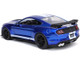 2020 Ford Mustang Shelby GT500 Candy Blue White Stripes Bigtime Muscle 1/24 Diecast Model Car Jada 32409