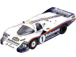 Porsche 956 #1 Ickx Bell 2nd Place 24H Le Mans 1983 1/18 Model Car Spark 18S425