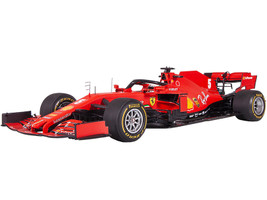 Ferrari SF1000 #5 Sebastian Vettel Formula One F1 Barcelona Test 2020 1/18 Model Car LookSmart LS18F1027