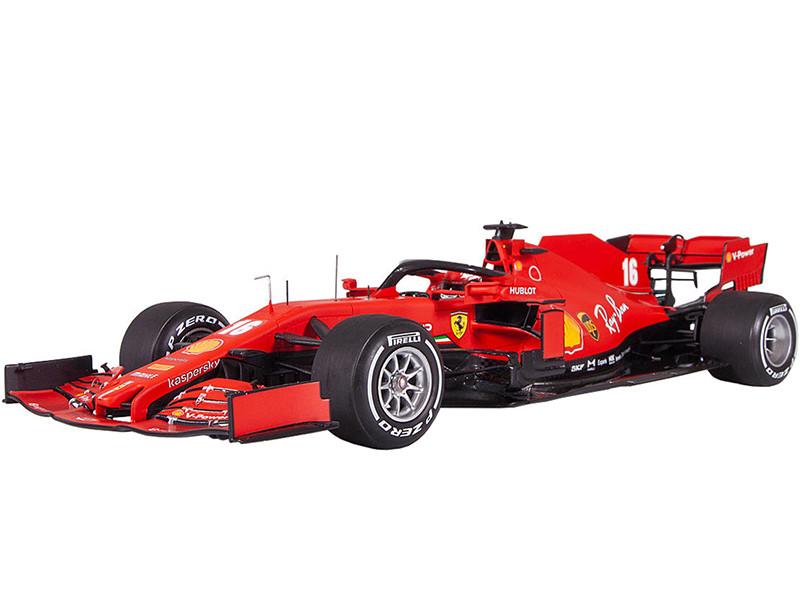 Ferrari SF1000 #16 Charles Leclerc Formula One F1 Barcelona Test 2020 1/18 Model Car LookSmart LS18F1028