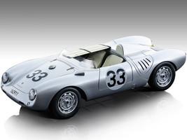Porsche 550 A #33 Herrmann von Frankenberg 24 Hours Le Mans 1957 Mythos Series Limited Edition 95 pieces Worldwide 1/18 Model Car Tecnomodel TM18-141C