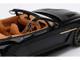 Aston Martin Vanquish Zagato Volante Speedster RHD Right Hand Drive Scorching Black 1/18 Model Car Top Speed TS0216
