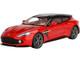 Aston Martin Vanquish Zagato Shooting Brake Lava Red Metallic Black Top 1/18 Model Car Top Speed TS0218