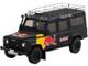 Land Rover Defender Black Red Bull LUKA Promotional Vehicle 1/43 Model Car True Scale Miniatures TSM430322