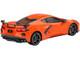 2020 Chevrolet Corvette Stingray C8 Sebring Orange Tintcoat 1/43 Model Car True Scale Miniatures TSM430495