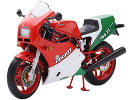 1985 Ducati 750 F1 Red White Green 1/12 Diecast Motorcycle Model True Scale Miniatures TSMMC0014