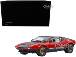 De Tomaso Pantera GT4 Red Black 1/18 Diecast Model Car Kyosho 08853