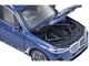 BMW X7 with Sunroof Phytonic Blue Metallic 1/18 Diecast Model Car Kyosho 08951 PBL