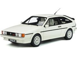 Volkswagen Scirocco Mk.2 Scala Alpine White Limited Edition 1500 pieces Worldwide 1/18 Model Car Otto Mobile OT845