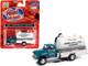 1957 Chevrolet Septic Tanker Truck Smithe Septic Service Glade Green White 1/87 HO Scale Model Classic Metal Works 30603