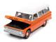 1965 Chevrolet Suburban Orange White Muscle Trucks Limited Edition 14704 pieces Worldwide 1/64 Diecast Model Car Autoworld 64302 AWSP060 B