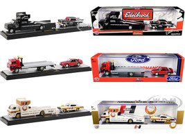 Auto Haulers Set of 3 Trucks Release 42 Limited Edition 7980 pieces Worldwide 1/64 Diecast Models M2 Machines 36000-42