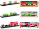Auto Haulers Coca-Cola Set of 3 pieces Release 6 Limited Edition 6000 pieces Worldwide 1/64 Diecast Models M2 Machines 56000-TW06