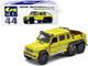 Mercedes Benz G63 AMG 6x6 Pickup Truck Kinetic Yellow 1st Special Edition 1/64 Diecast Model Car Era Car MB206X6RF44