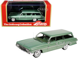 1962 Oldsmobile Dynamic Fiesta Wagon Willow Green Metallic Limited Edition 225 pieces Worldwide 1/43 Model Car Goldvarg Collection GC-038 B