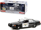 2008 Ford Crown Victoria Police Interceptor Black White CHP California Highway Patrol Hot Pursuit Series 1/24 Diecast Model Car Greenlight 85523