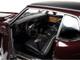 1970 Oldsmobile Cutlass SX Burgundy Mist Metallic Black Vinyl Top Class of 1970 1/18 Diecast Model Car Autoworld AMM1245