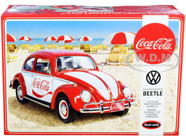 Skill 3 Snap Model Kit Volkswagen Beetle Coca-Cola 1/25 Scale Model Polar Lights POL960 M