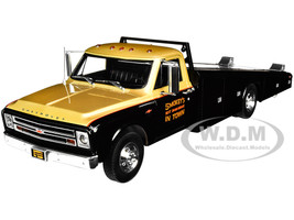 1967 Chevrolet C-30 Ramp Truck Black Gold Smokey Yunick Racing Limited Edition 560 pieces Worldwide 1/18 Diecast Model Car ACME A1801703
