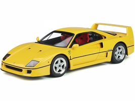 Ferrari F40 Giallo Modena Yellow 1/18 Model Car GT Spirit GT839