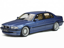 BMW Alpina B12 E38 Alpina Blue Metallic Limited Edition 3000 pieces Worldwide 1/18 Model Car Otto Mobile OT359 B