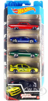 Fast & Furious Movies 5 piece Set Diecast Model Cars Hot Wheels GWW93-9993